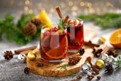 Holiday mocktails